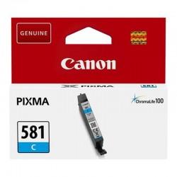Cartucho de tinta original canon cli-581c/ cian