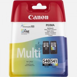 Multipack 2 cartuchos tinta canon pg-540 / cl-541 - 8ml - compatible según especificaciones
