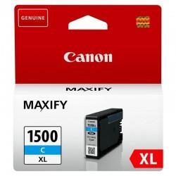 Cartucho de tinta cian canon pgi-1500xl - 12ml - compatible según especificaciones