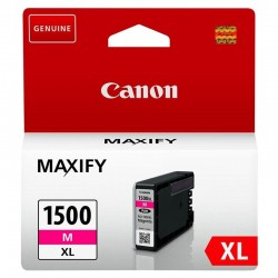 Cartucho de tinta magenta canon pgi-1500xl - 12ml - compatible según especificaciones