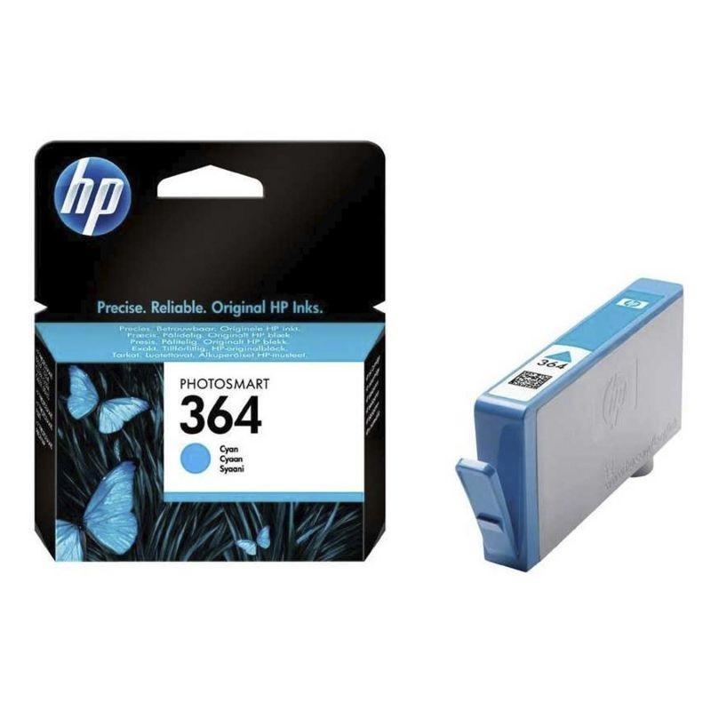 Cartucho cian hp nº364 vivera  para impresora photosmart b109a/d5460/c6380/c5380 130 hojas