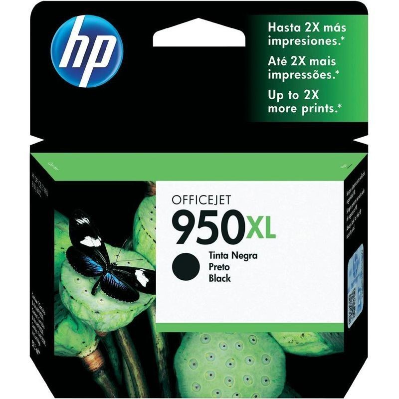 Cartucho negro hp nº950xl para officejet pro 8600