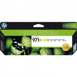 Cartucho amarillo hp nº971xl para hp officejet pro x476dw / x576dw / x551dw