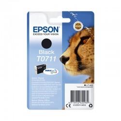 Cartucho tinta negro epson t0711 - 7.4 ml - guepardo - compatible segun especificaciones