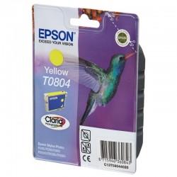 Cartucho de tinta amarillo epson t0804 - colibri - compatible segun especificaciones