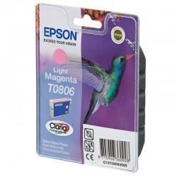Cartucho de tinta magenta claro epson t0806 - colibri - compatible segun especificaciones