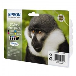 Cartucho tinta epson t0895 multi-pack negro/color - mono