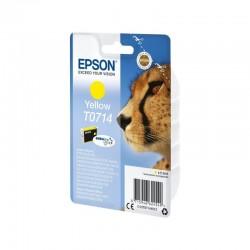 Cartucho tinta amarillo epson t0714 - 5.5 ml - guepardo - compatible segun especificaciones