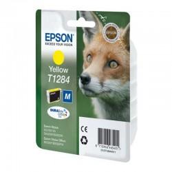 Cartucho tinta epson amarillo t1284 - zorro - compatible segun especificaciones