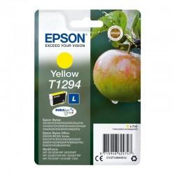 Cartucho tinta epson amarillo  t1294 - manzana