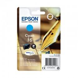 Cartucho tinta cian epson 16 - 3.1ml - pluma y crucigrama - compatible segun especificaciones
