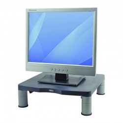 Soporte para monitor estándar fellowes 9169301 grafito - altura regulable 50-100mm - soporta hasta 27kg