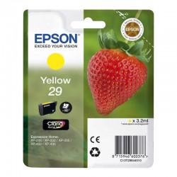 Cartucho tinta amarillo epson t2984 - fresa - compatible segun especificaciones