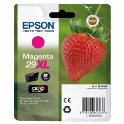 Cartucho magenta epson  29xl claria home - 6.4ml - fresa