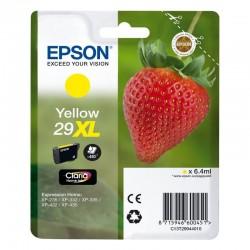 Cartucho amarillo epson 29xl  claria home - 6.4ml - fresa