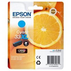 Cartucho tinta cian epson 33xl -  8.9ml - naranja - para xp-530 / xp-540 / xp-630 / xp-635 / xp-640 / xp-645 / xp-830 / xp-900