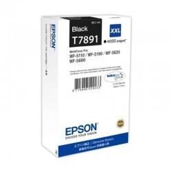 Cartucho epson c13t789140 - negro - 4000 páginas - compatible con workforce pro wf-5110/wf-5190/wf-5620/wf-5690