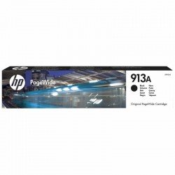 Cartucho negro hp pagewide 913a - 3500 páginas - para pagewide pro 452dw / 477dw / 377dw / 452dwt