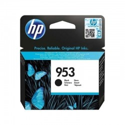 Cartucho negro hp nº953 - 1000 páginas - compatible con all-in-one officejet pro 8710/8720/8740 - officejet pro 8210/8715/8730