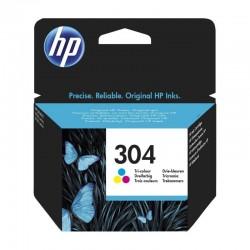 Cartucho de tinta color hp nº304 - 100 páginas - para deskjet 3720/2630