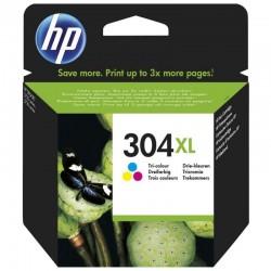 Cartucho de tinta color hp nº304xl - 300 páginas - para deskjet 3720/3730/3732/2630