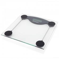 Báscula de baño orbegozo pb 2211 - pantalla lcd 73*28mm - superficie cristal templado - hasta 150kg - precisión 100g