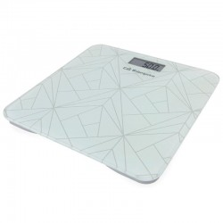 Báscula de baño orbegozo pb 2218 - pantalla lcd - superficie cristal templado 8mm - hasta 180kg - precisión 100g