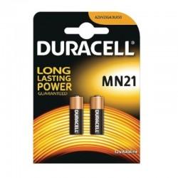 Pack de 2 pilas mn21 duracell - 3lr50 - 12v - alcalinas - tecnología duralock