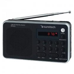 Radio portátil sunstech rpd32sl/ plata