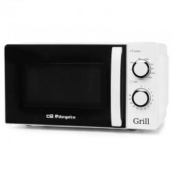 Microondas con grill orbegozo mig 2130 - 700w / grill 900w - 20 litros - 5 niveles potencia - 3 funciones grill/microondas -