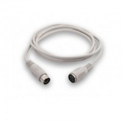 Cable alargador ps2 3go c305/ mini din macho - mini din hembra/ 1.8m/ blanco