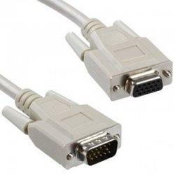 Cable alargador vga nanocable 10.15.0202/ d-sub macho - hd sub hembra/ 1.8m/ beige