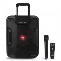 Altavoz portable con bluetooth fonestar california/ 200w