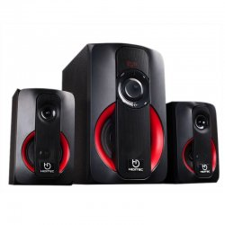 Altavoces 2.1 con bluetooth hiditec h400 spk010000 - 40w - subwoofer 5'/12.7cm - satelites 3'/7.62cm - lector usb/sd - audio-in