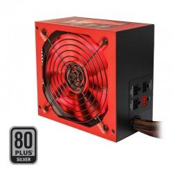 Fuente de alimentación gaming mars gaming vulcano mpvu750/ 750w/ ventilador 14cm/ 80 plus silver