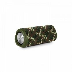 Altavoz con bluetooth spc tube/ 10w/ 1.0/ verde