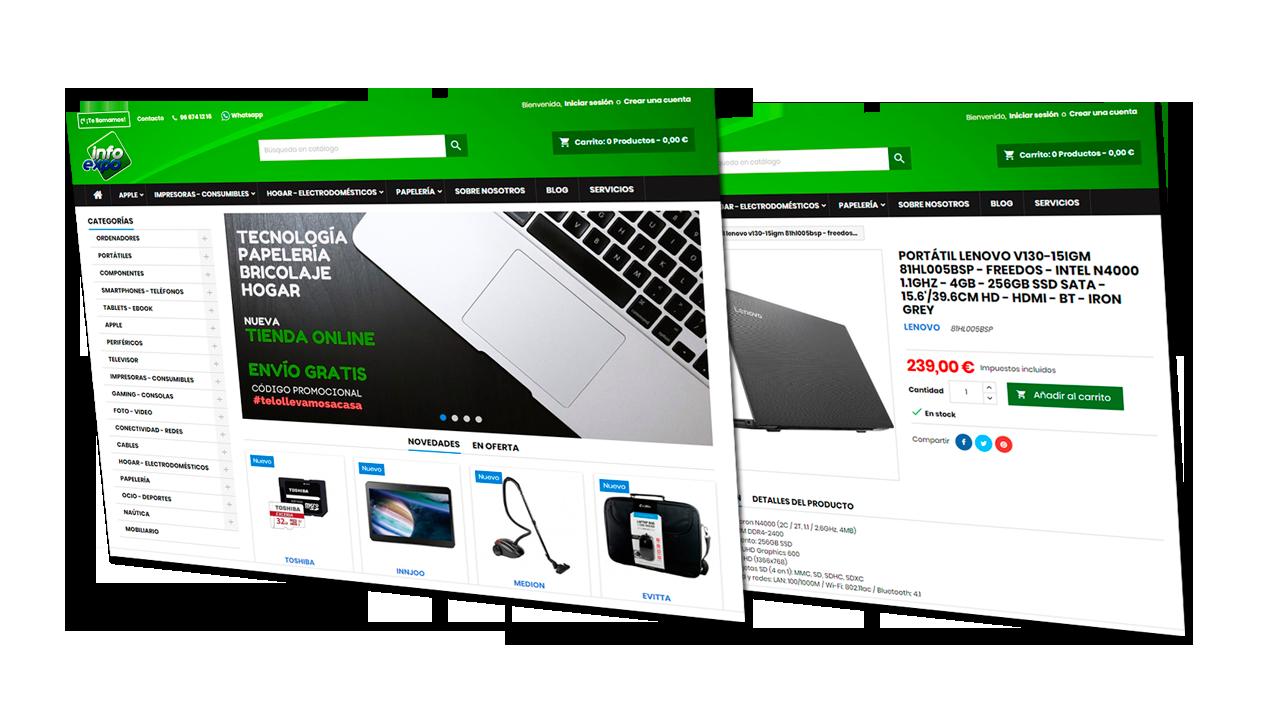 Por fin, ya tenemos nueva tienda online